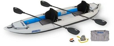Sea Eagle 385FT FastTrack 2 Person Inflatable Kayak - Pro Package