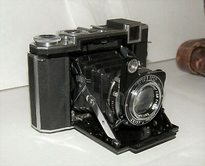Zeiss Ikon Super Ikonta B 532-16 Camera w/ Tessar 8cm 2.8 Lens 80mm