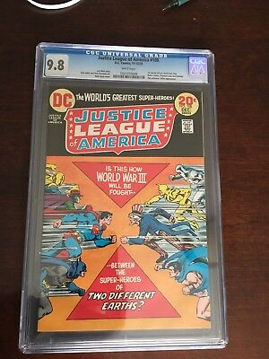 Justice League Of America #108 CGC 9.8 White Pgs 1st Revival GA Freedom Fighters