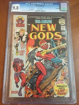 New Gods #9 CGC 9.8 White Pages First Appearance Of Forager