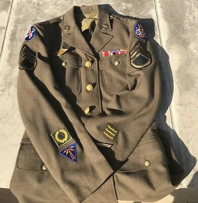WWII uniform US 5th air Force