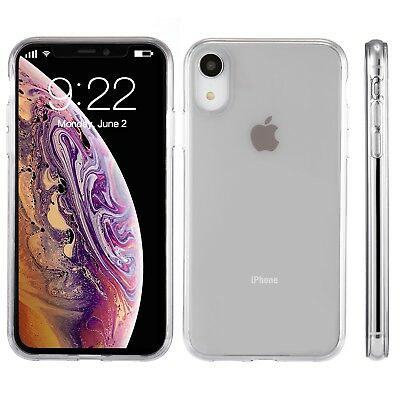"For Apple iPhone XR Case 6.1"" Silicone Crystal Clear Bumper Gel iPhone 10R Cover"
