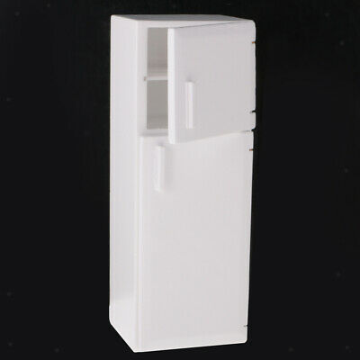 1/12 Scale Dolls House Miniature Kitchen Furniture Fridge Refrigerator Model
