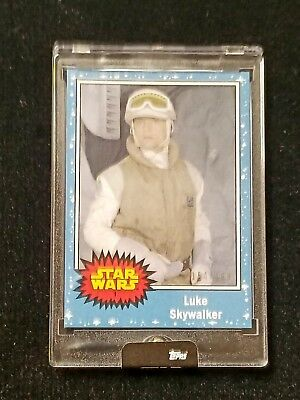 2018 SDCC Topps Exclusive Star Wars 5 Card Set #/199 (Limited Edition!)