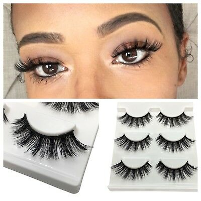 Mink Lashes 3D Flare💞 3Pair Us Seller Super Fast Shipping 🚛🚛