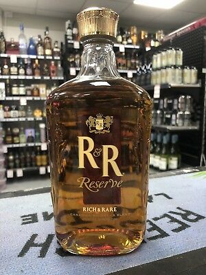 Rich & Rare R&R Reserve Blended Canadian Whisky