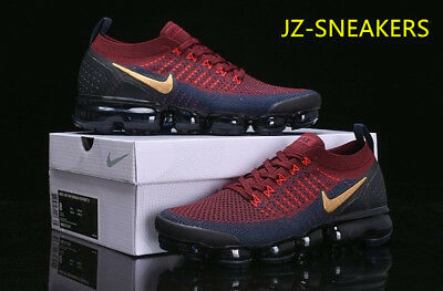 2018 Nike Air Vapormax Flyknit Men s - Running Movement Fitness City Trai  RED 7614c653d
