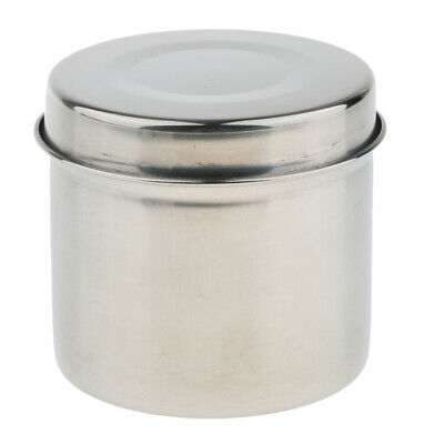 Stainless Steel Cotton Alcohol Disinfection Tanks Medicine Container Jar Box