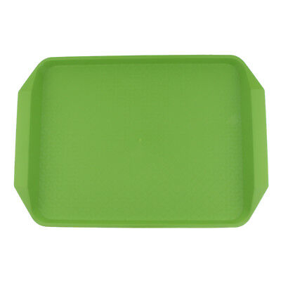 Plastic Rectangle Food Tray Serving Tea Dinner Drink Catering Tray 14''x11''