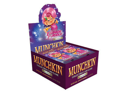 Munchkin Collectable Card Game - Booster Box Fashion Furious (24 Pa  - BRAND NEW