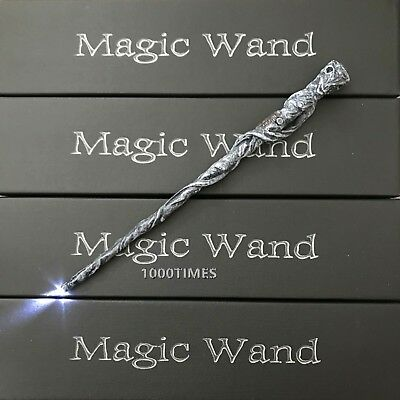 Harry Potter Moody Old Ghost Magic Wand w/  LED Light Up Cosplay Costume