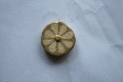 RARE ANCIENT EGYPTIAN ROSETTE INLAY 20th DYN 12th Century BC DYNASTIC