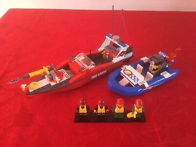 Lego City 60005 Fire Boat Instructions Book 2 Only No Bricks 161
