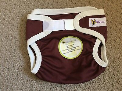 1 x Baby Beehinds PUL Cover - MEDIUM, CHOCOLATE BROWN, Brand New