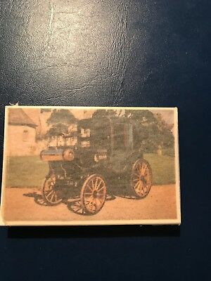 Trading Cards-Veteran & Vintage Cars-Issued in 1962-Full set of 24 cards