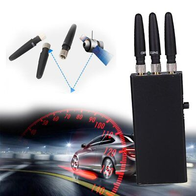 2018 GPS Auto-Blocker Antispion 2 3 Signal Anti-Tracking-Gerät Mit Antenne