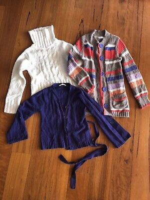 Jack and Milly Girls Size 7 Cardigans & Jumper