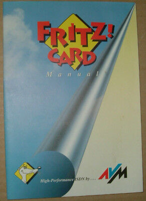 Fritz Card Treiber Windows 95 und Win 3.11 Disketten CDROM  Handbuch rar vintage
