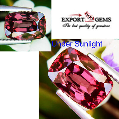 Unheated 3.55Ct Natural Color Change Garnet