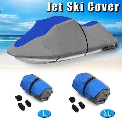 116''-140'' 600D PWC Jet Ski Trailerable Cover Abdeckung Persenning Universal