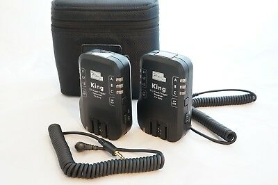PIXEL King Wireless TTL-Flash 1 Trigger 2 Receivers for Sony