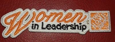 """Home Depot """"Women In Leadership"""" Patch"""