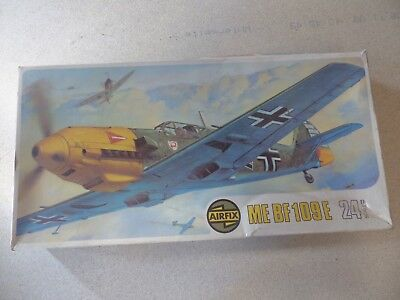 1x RARE LARGE AIRFIX 1:24 Messerschmitt BF 109E 24th Scale Super Kit