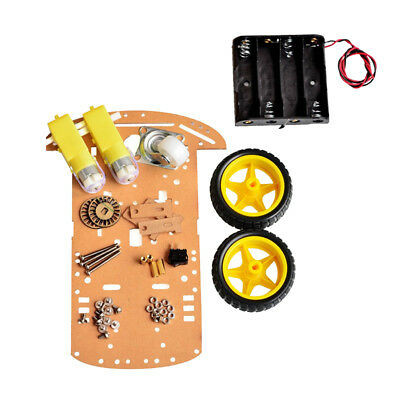 Fashion 2WD DIY Motor Smart Robot Car Chassis Kits Speed Encoder for Arduino