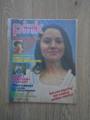 Pink comic magazine # 7 - May 5th 1973, incl Donny Osmond Leaves Home Booklet