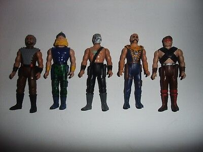 Rare Vintage Tonka job lot of Steel Monsters action figures