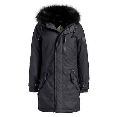 KHUJO BABETTE DAMEN Mantel midnight Winterjacke mit