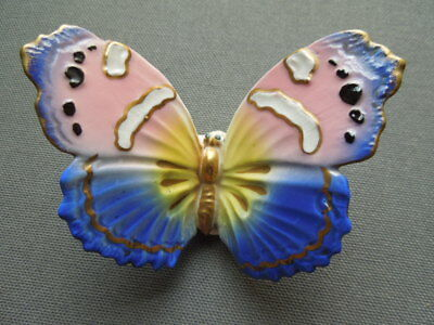 Papillon Ancien En Porcelaine Marquage Karl Ens Butterfly Germany