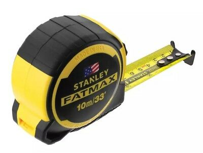 Stanley 10m 33ft FatMax Next Generation Max Shield Twin-Core Tape Measure 03633