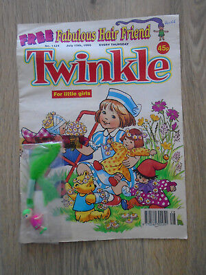 Twinkle Comic # 1434, July 15th 1995 with free gift, Fabulous Hair Friend