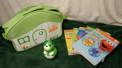 Leap Frog Tag Junior Set: Reader, 5 Books and Carrying Case FREE SHIPPING!