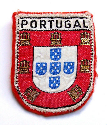 Portugal TRAVEL SOUVENIR PATCH 2 3/4""