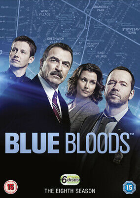 Blue Bloods: The Eighth Season DVD (2018) Donnie Wahlberg ***NEW***