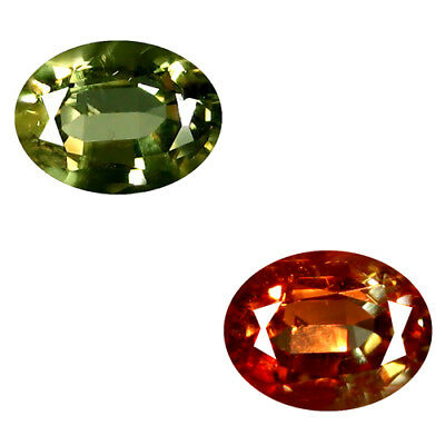 1.23 Ct Extremely Rarest ! Stunning 100%natural Color Shift Diaspore