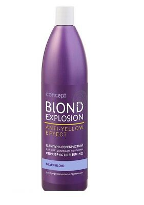 Concept Blond Explosion Color Shade shampoo Anti yellow effect 300 ml SIlver
