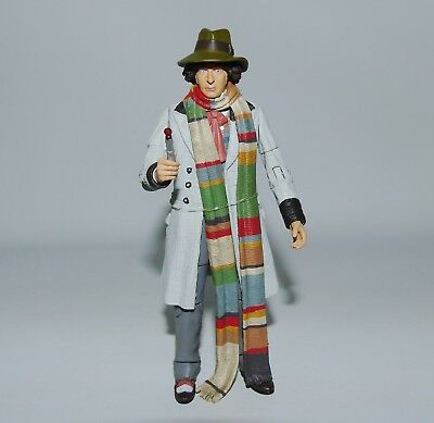 """Doctor Who 4th Doctor 5"""" Classic Action Figure 11 Doctors Set Tom Baker"""