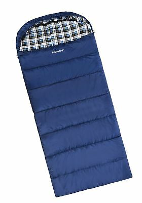 REDCAMP Cotton Flannel Sleeping Bag Adults, 23/32F Comfortable, Envelope Comp...