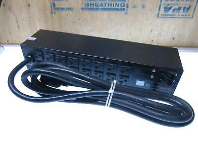 APC AP7902 AP 7902 30A 120 VAC Switched Rack PDU^