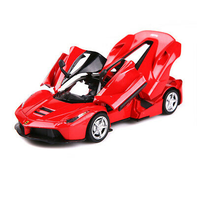Ferrari 458 Convertible Model Cars 1:32 Alloy Diecast Toy Car Kids Gifts Red