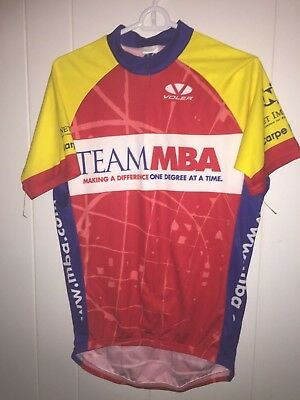 Men s Team MBA Bicycle Racing Voler Cycling Shirt large Capt Bliss Tribute 462548f42