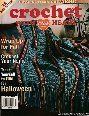 Crochet With Heart Magazine October 2000 23 Excellent Patterns