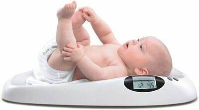 Digital Baby Scale White Curved Pediatric Infant Toddler Pet Puppies Kittens Cat