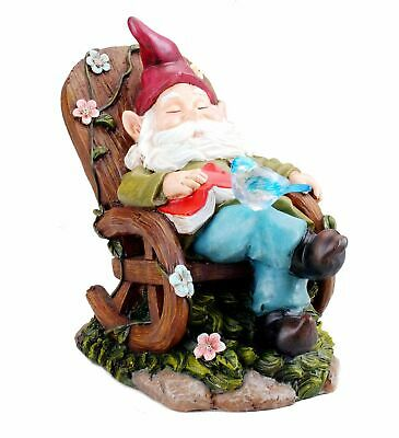 Bo Toys Solar Ed Gnome Jumping Over A Barrel With