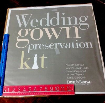 Wedding preservation kit for wedding gowns