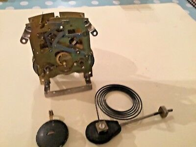 Vintage Smiths Enfield  Clock Striking  Movement Workings  Steampunk