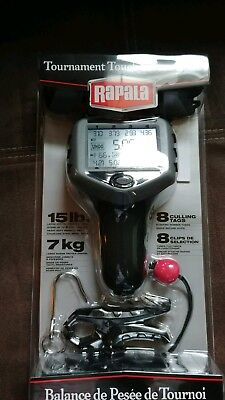 NEW IN BOX Rapala TOURNAMENT TOUCH SCREEN 15lb SCALE